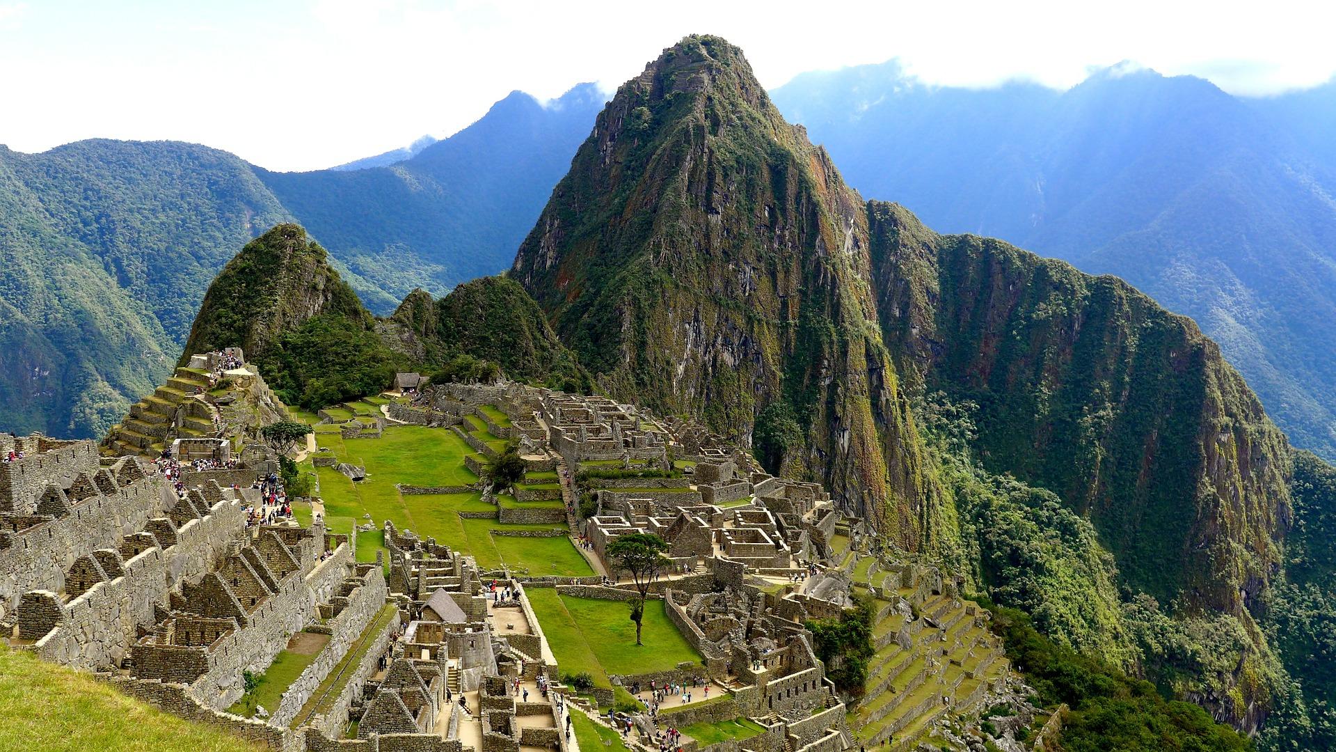 мачу-пикчу перу Machu Picchu Peru Machu Picchu  № 393753  скачать